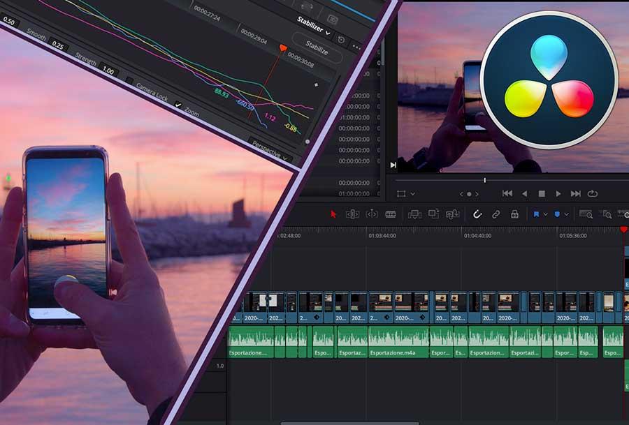 Corso di Montaggio Video con Davinci Resolve per la tua promozione on line