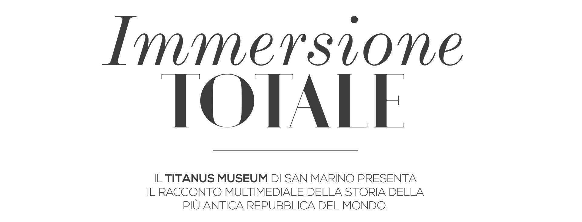 8896In Magazine parla del nostro ultimo lavoro di produzione del museo multimediale Titanus Museum di San Marino