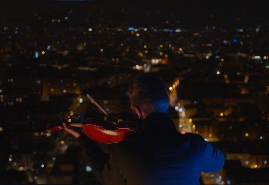 Il nostro nuovo video con Federico Mecozzi sopra il Grattacielo di Rimini