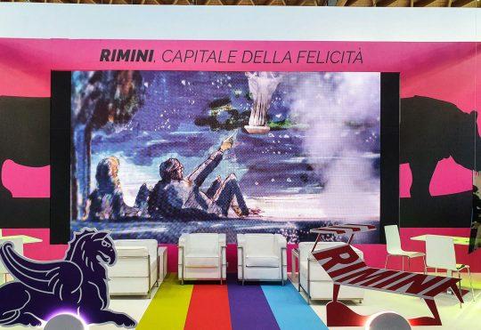 Il nostro spot per Fellini Museum protagonista dello stand Visit Rimini al TTG 2021